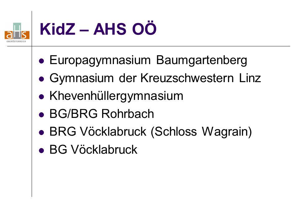 KidZ – AHS OÖ Europagymnasium Baumgartenberg
