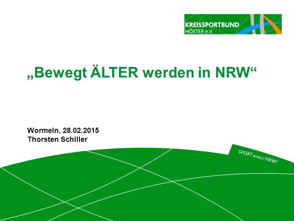 """""""Bewegt ÄLTER werden in NRW"""