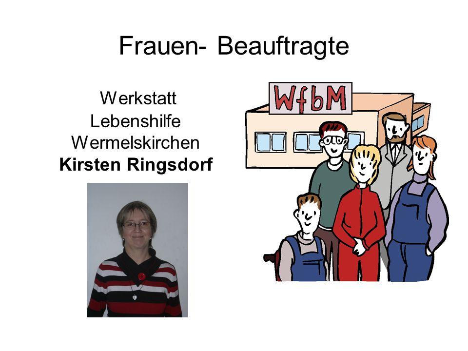 Werkstatt Lebenshilfe Wermelskirchen Kirsten Ringsdorf