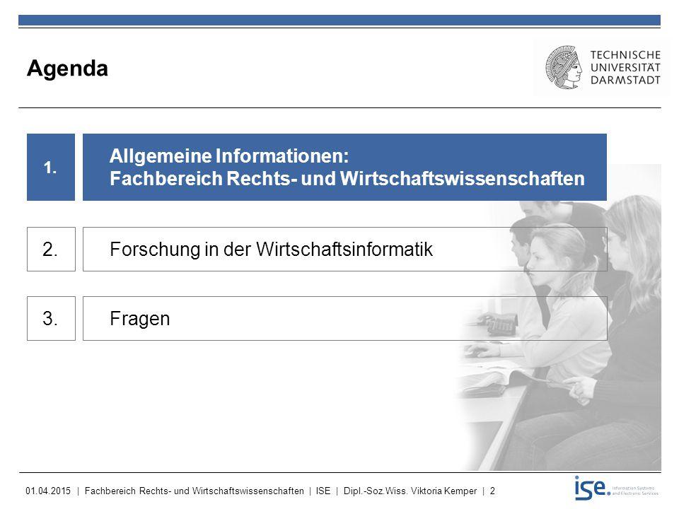 Agenda Allgemeine Informationen: