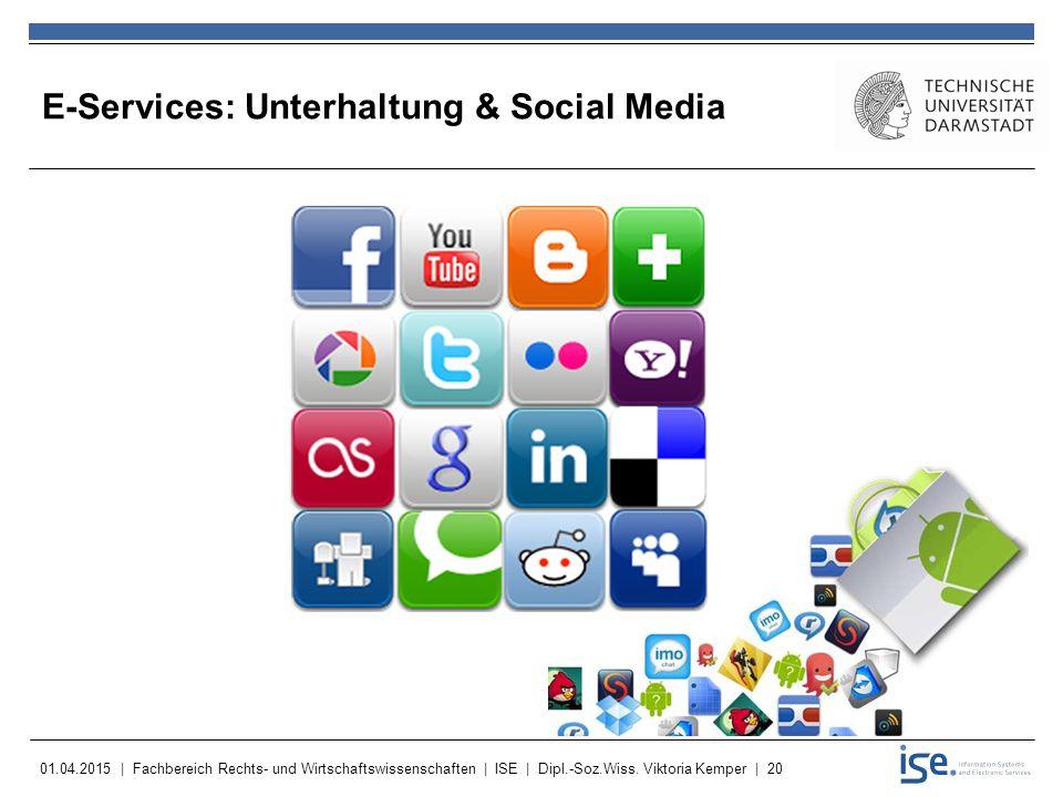 E-Services: Unterhaltung & Social Media