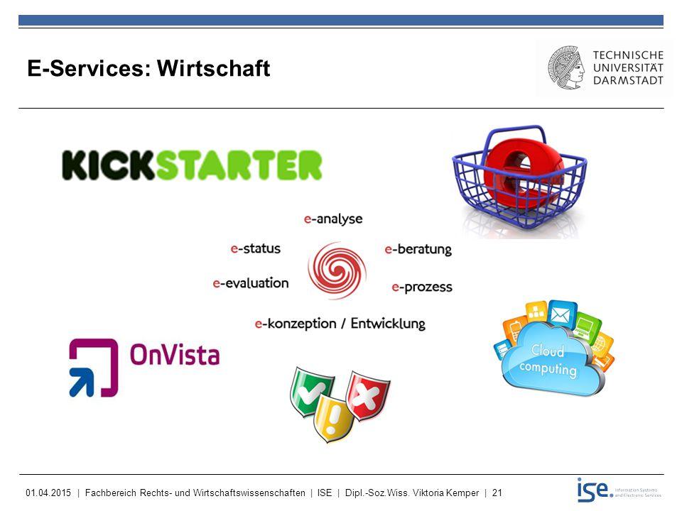 E-Services: Wirtschaft
