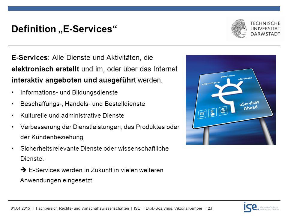 "Definition ""E-Services"