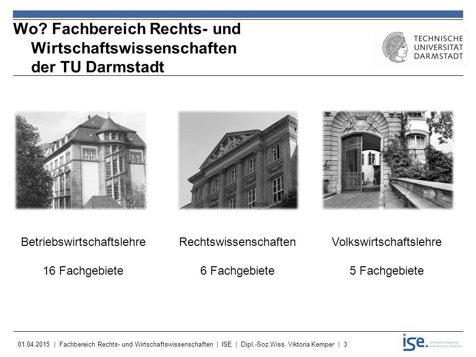 Wo Fachbereich Rechts- und Wirtschaftswissenschaften der TU Darmstadt