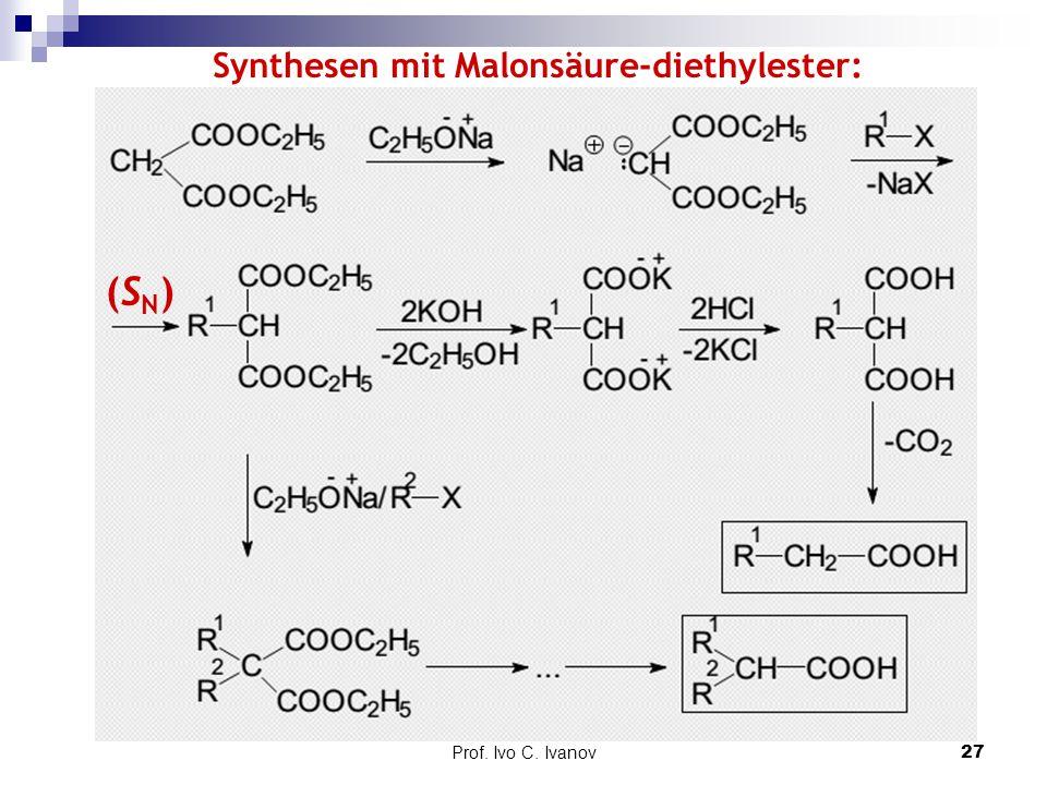 Synthesen mit Malonsäure-diethylester: