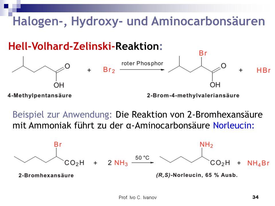 Halogen-, Hydroxy- und Aminocarbonsäuren