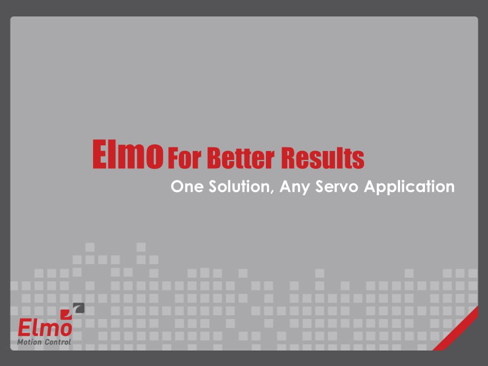 Elmo For Better Results