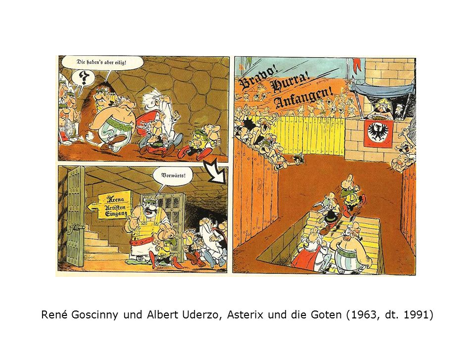 René Goscinny und Albert Uderzo, Asterix und die Goten (1963, dt. 1991)
