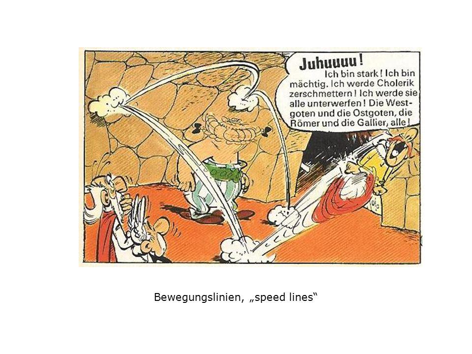 """Bewegungslinien, """"speed lines"""