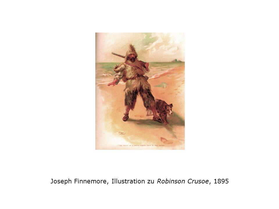 Joseph Finnemore, Illustration zu Robinson Crusoe, 1895