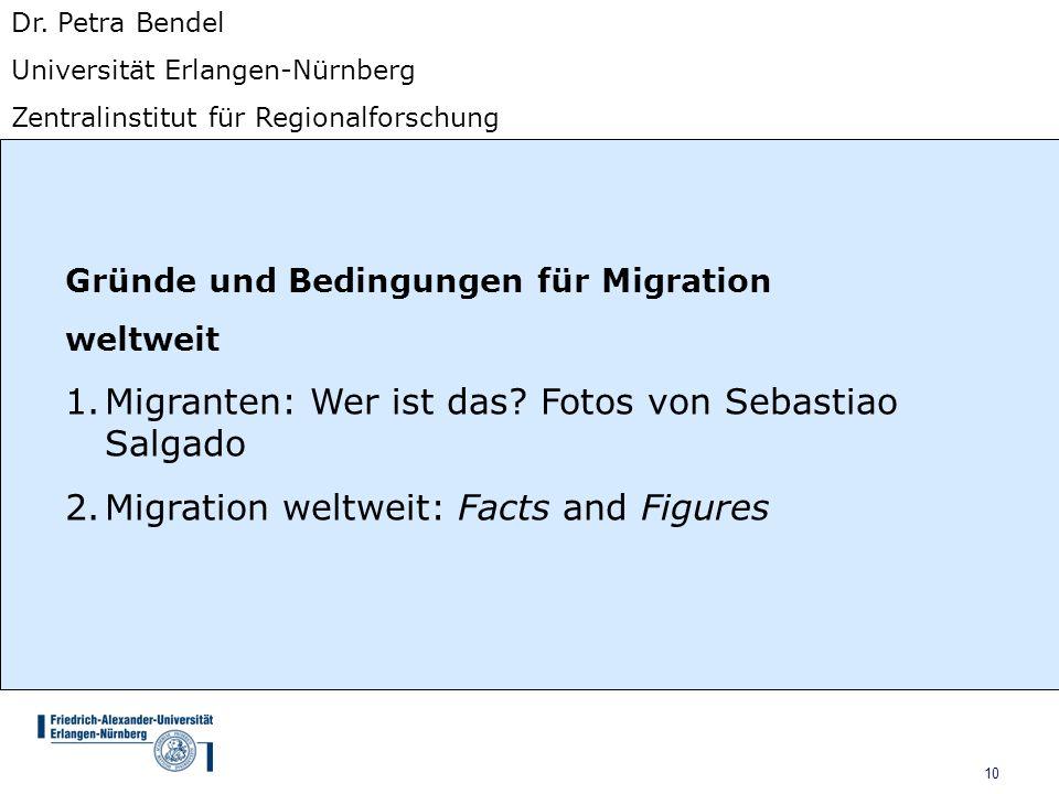 Migranten: Wer ist das Fotos von Sebastiao Salgado