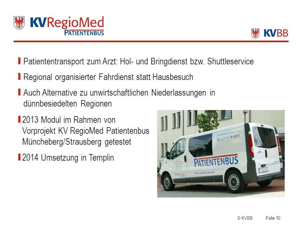 Patiententransport zum Arzt: Hol- und Bringdienst bzw. Shuttleservice