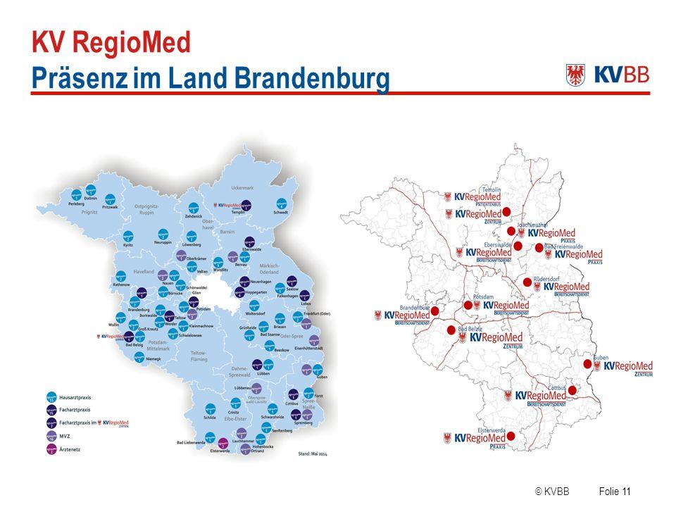 Präsenz im Land Brandenburg