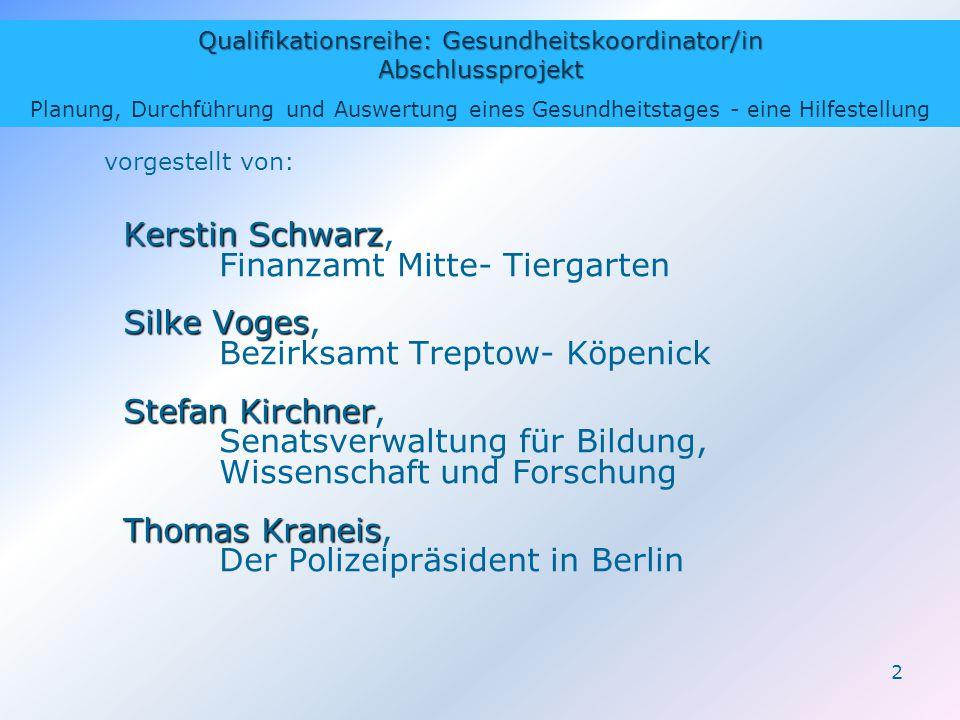 Kerstin Schwarz, Finanzamt Mitte- Tiergarten