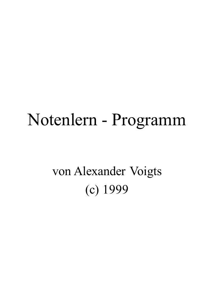 von Alexander Voigts (c) 1999