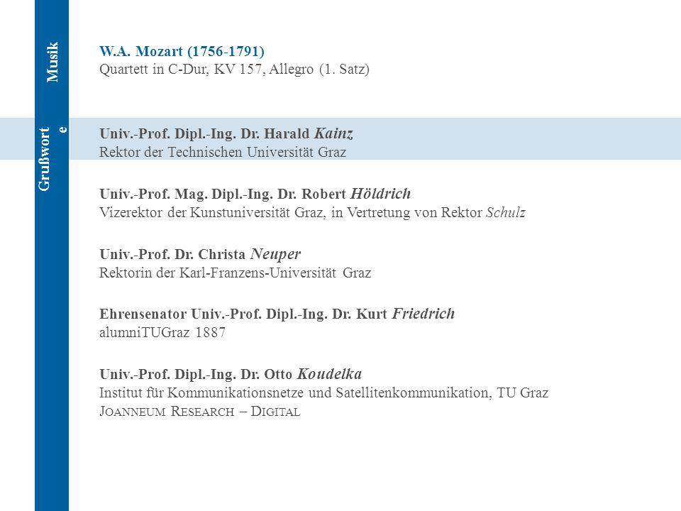 W.A. Mozart (1756-1791) Quartett in C-Dur, KV 157, Allegro (1. Satz)