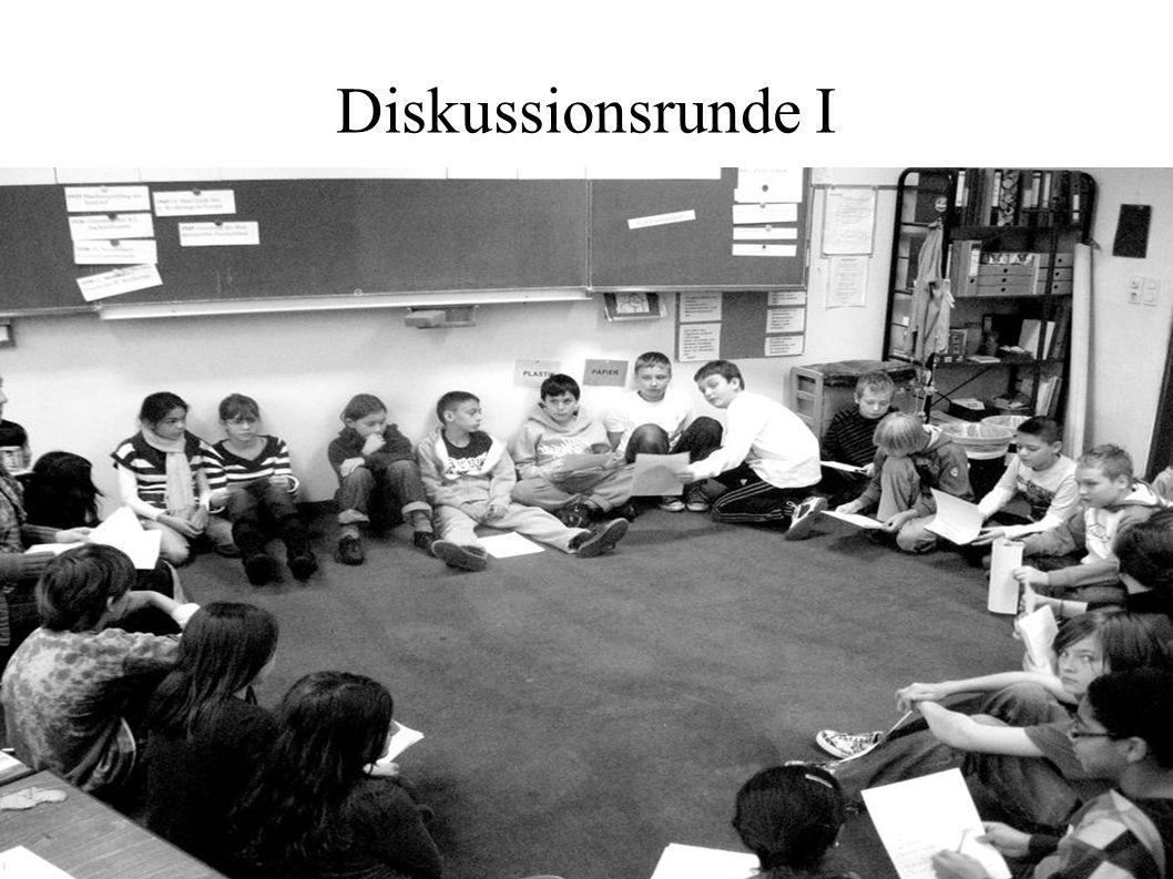 Diskussionsrunde I 13