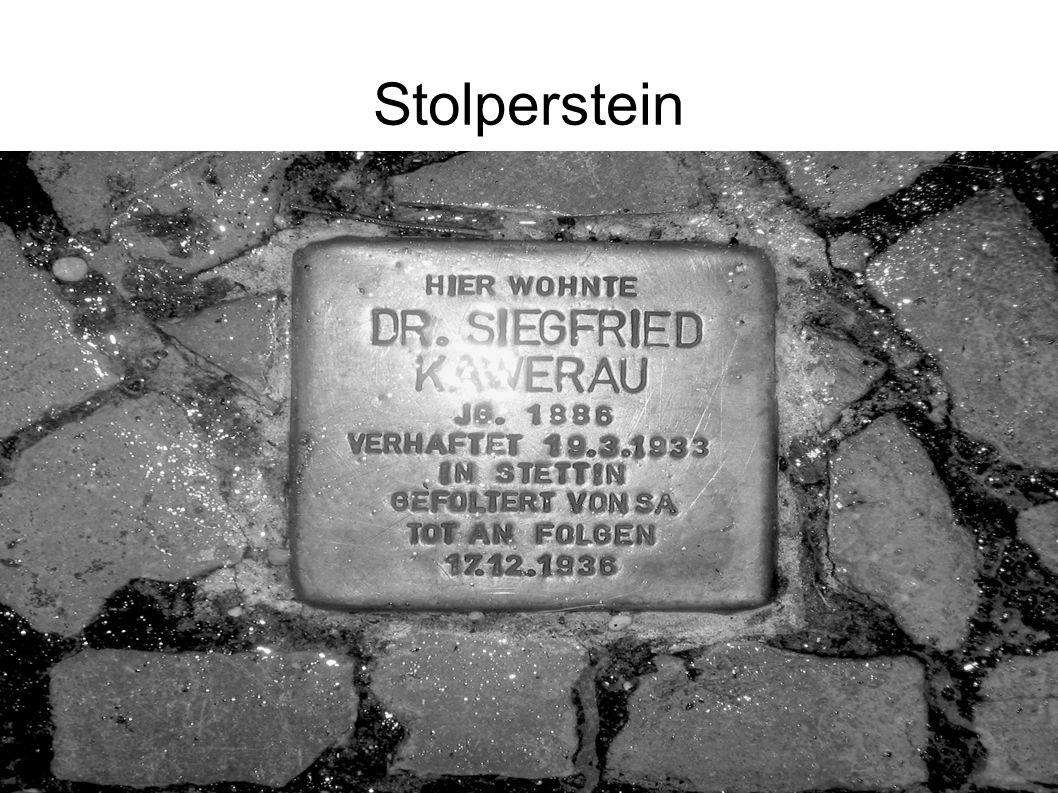 Stolperstein 36