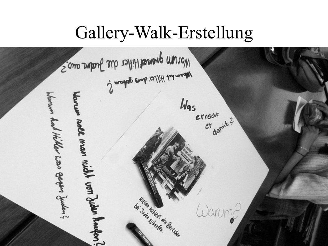 Gallery-Walk-Erstellung