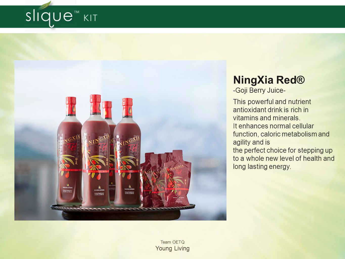 NingXia Red® -Goji Berry Juice-