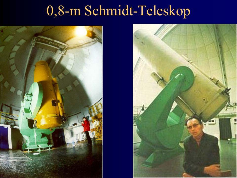 0,8-m Schmidt-Teleskop