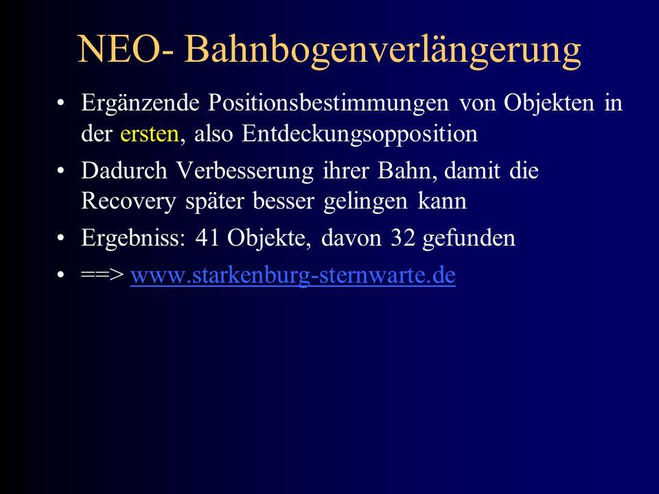 NEO- Bahnbogenverlängerung