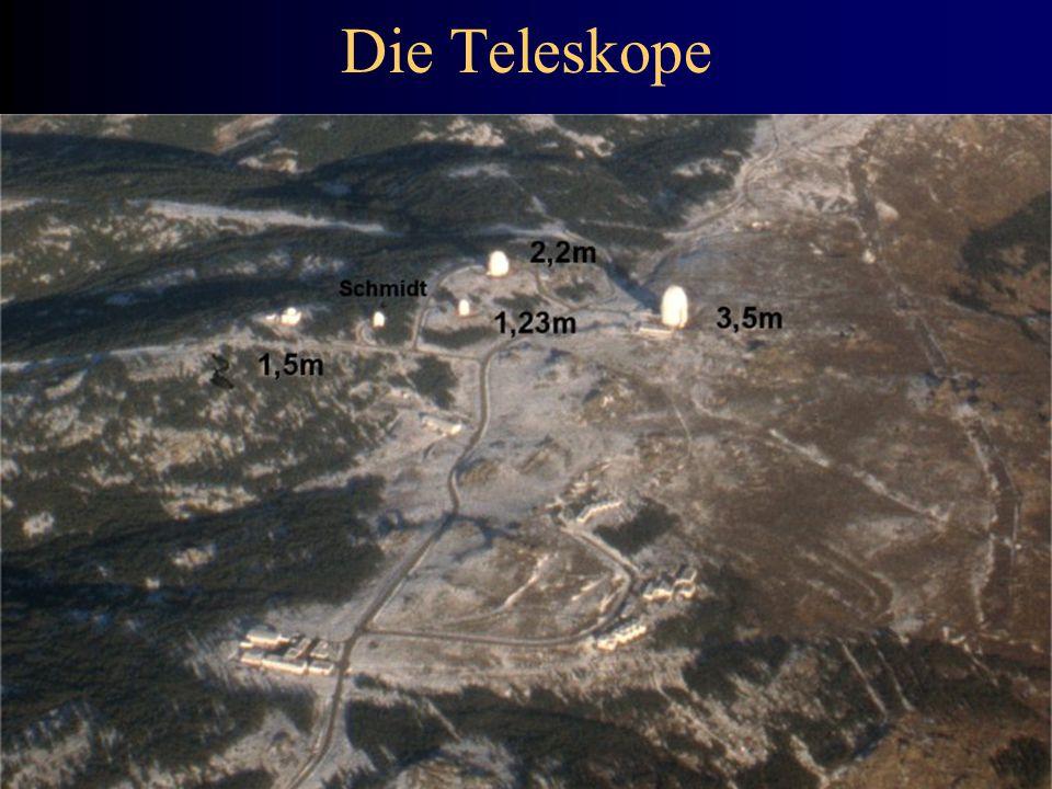 Die Teleskope 4/9/2017