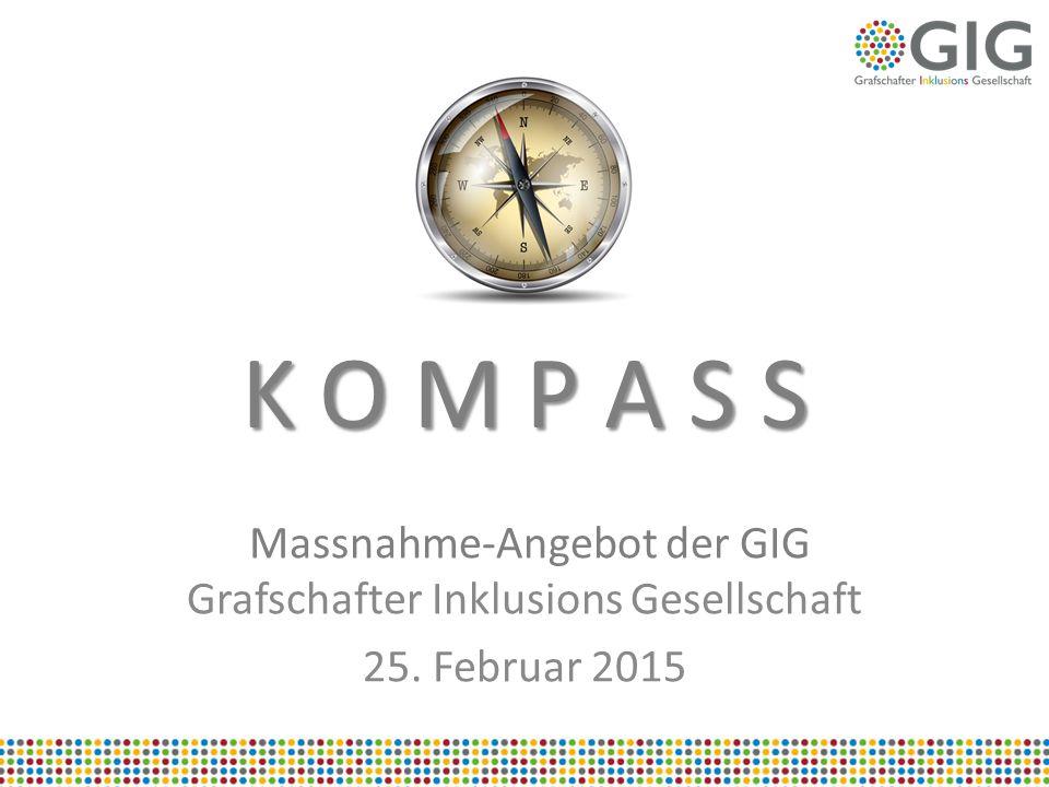 Massnahme-Angebot der GIG Grafschafter Inklusions Gesellschaft