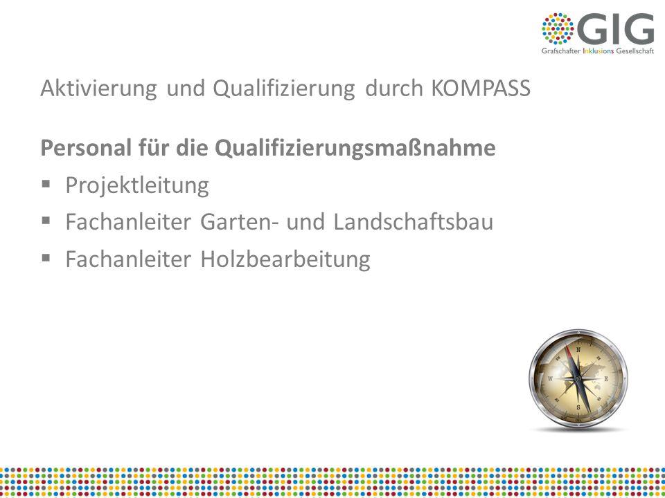 Aktivierung und Qualifizierung durch KOMPASS