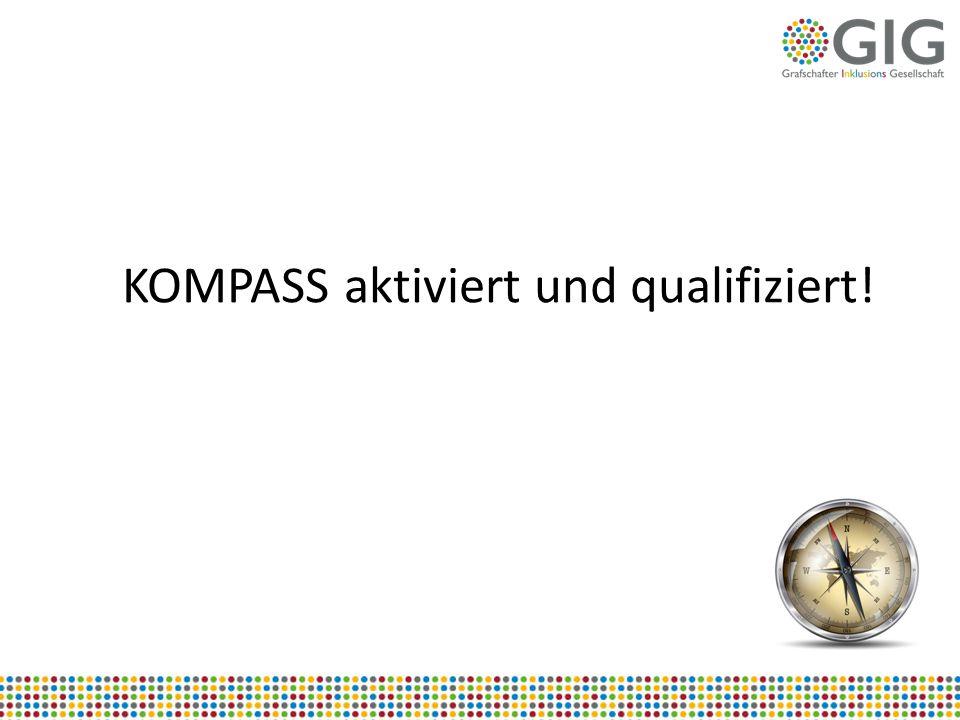KOMPASS aktiviert und qualifiziert!