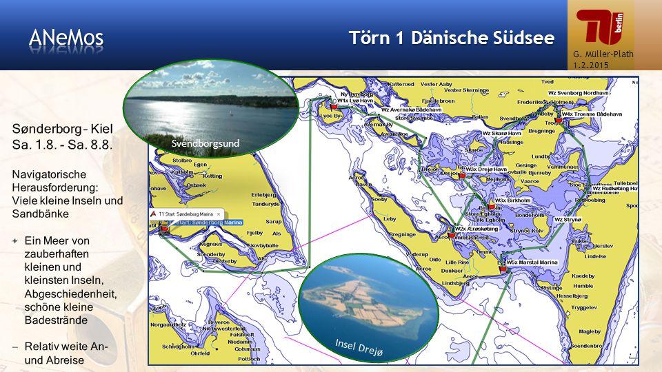 ANeMos Törn 1 Dänische Südsee Sønderborg – Kiel Sa. 1.8. - Sa. 8.8.