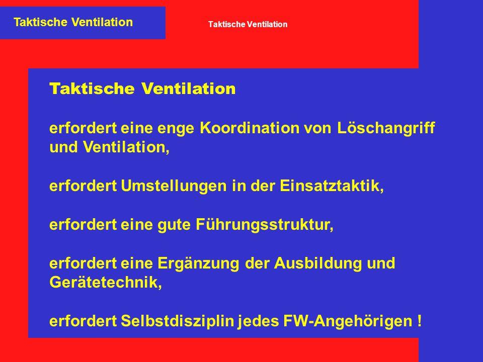 Taktische Ventilation