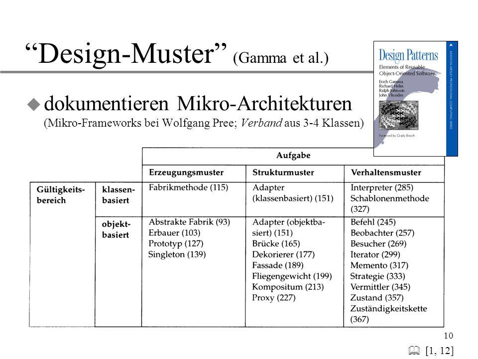 Design-Muster (Gamma et al.)