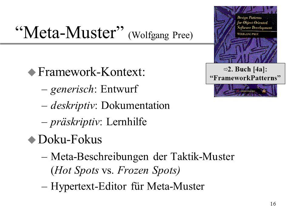Meta-Muster (Wolfgang Pree)
