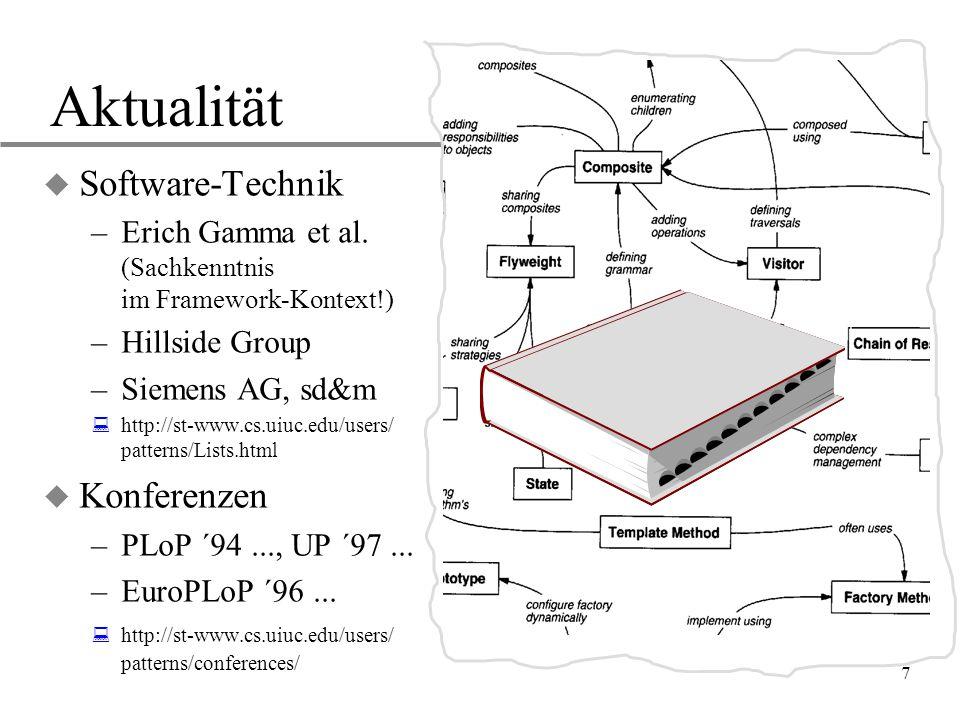 Aktualität Software-Technik Konferenzen