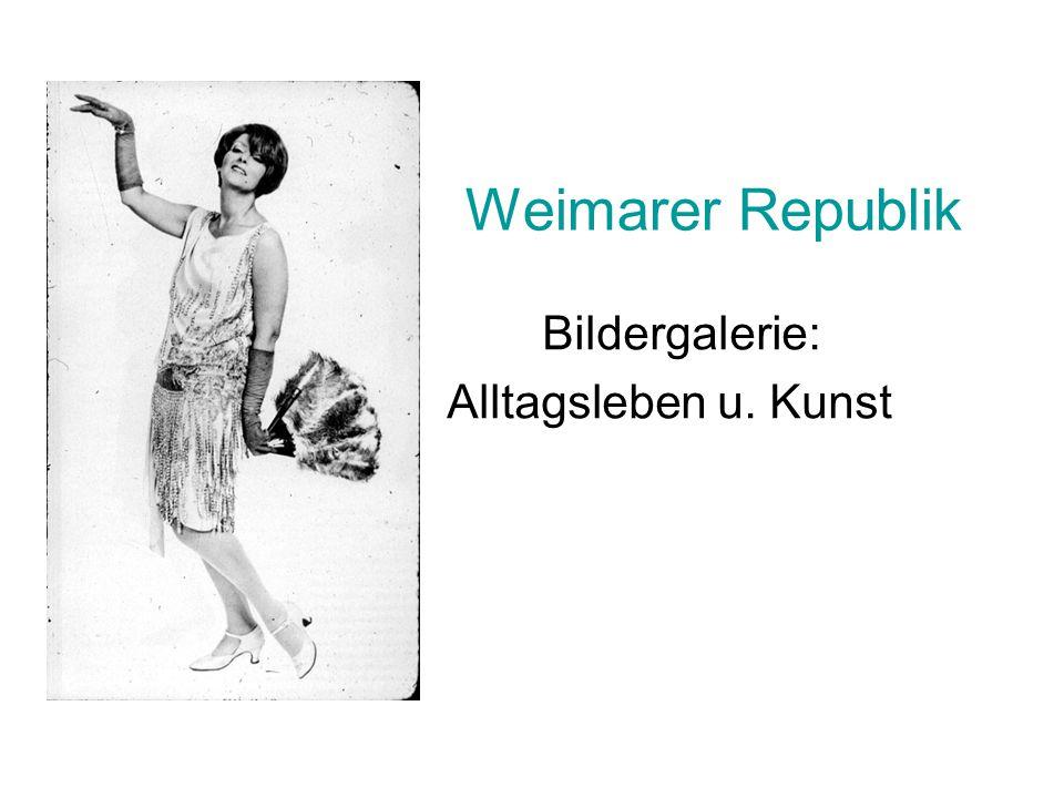 Bildergalerie: Alltagsleben u. Kunst