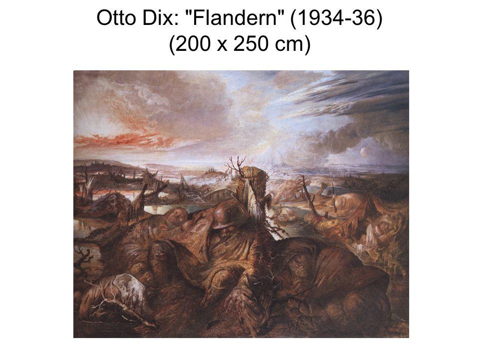 Otto Dix: Flandern (1934-36) (200 x 250 cm)