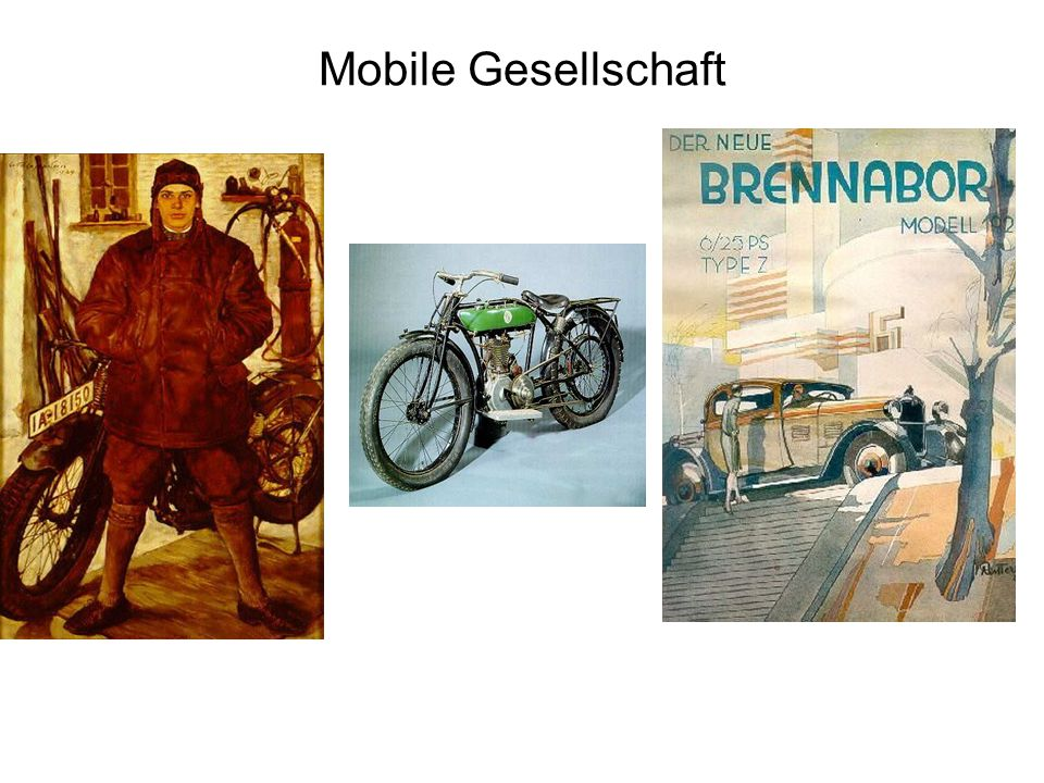 Mobile Gesellschaft