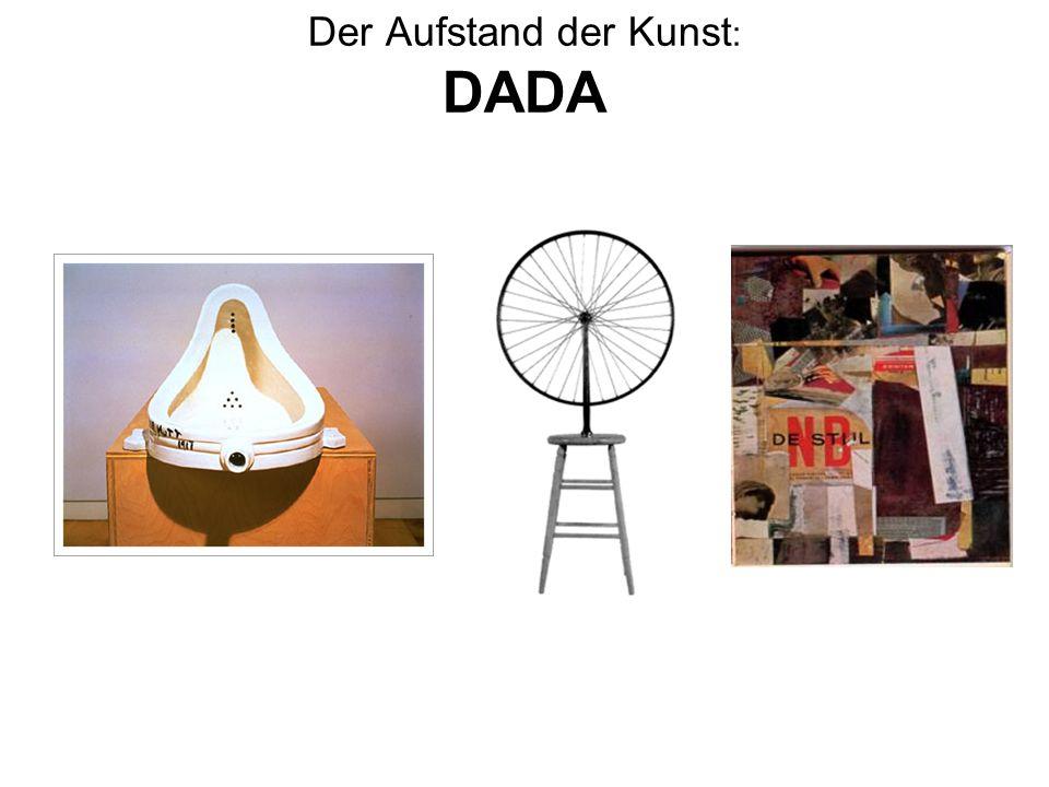 Der Aufstand der Kunst: DADA