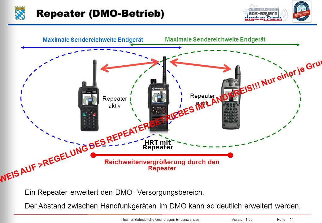 Repeater (DMO-Betrieb)