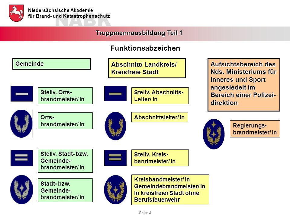 Funktionsabzeichen Abschnitt/ Landkreis/ Aufsichtsbereich des
