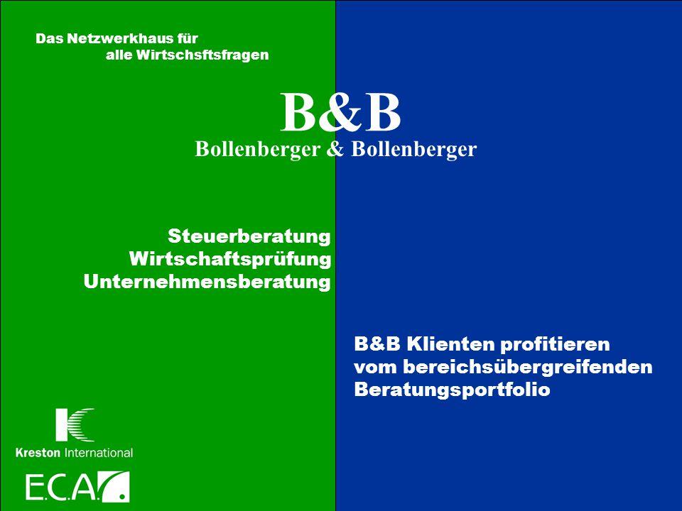 B&B Bollenberger & Bollenberger Steuerberatung Wirtschaftsprüfung