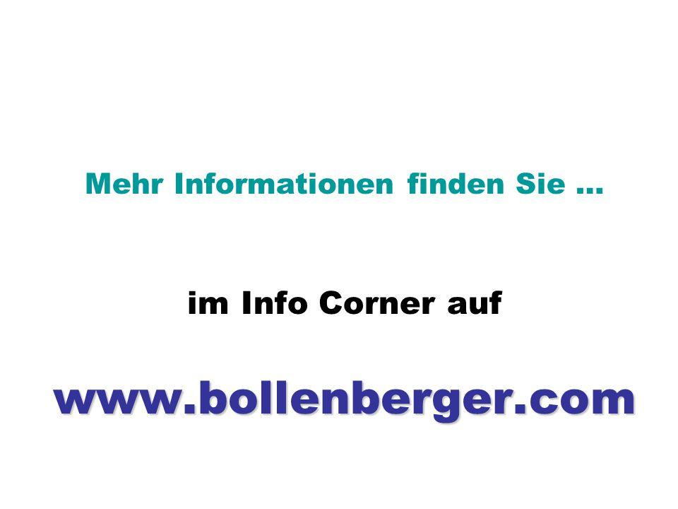 Mehr Informationen finden Sie …