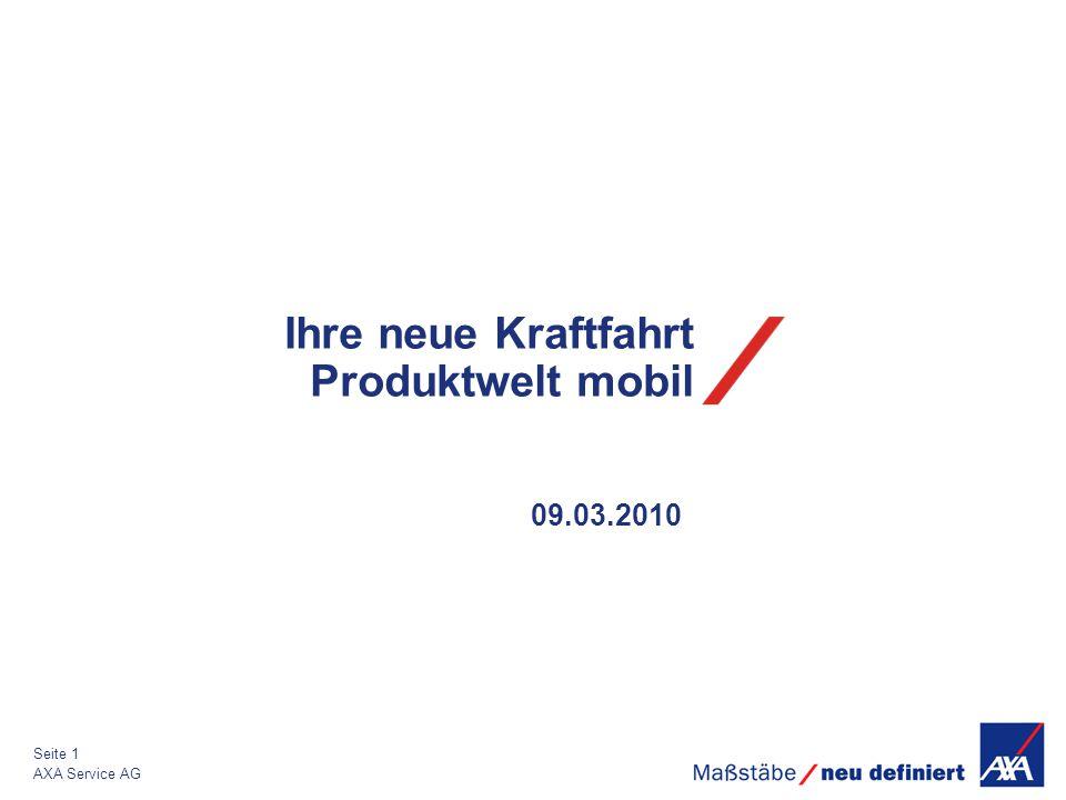 Ihre neue Kraftfahrt Produktwelt mobil