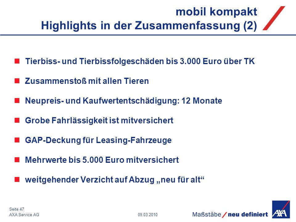 mobil kompakt Highlights in der Zusammenfassung (2)