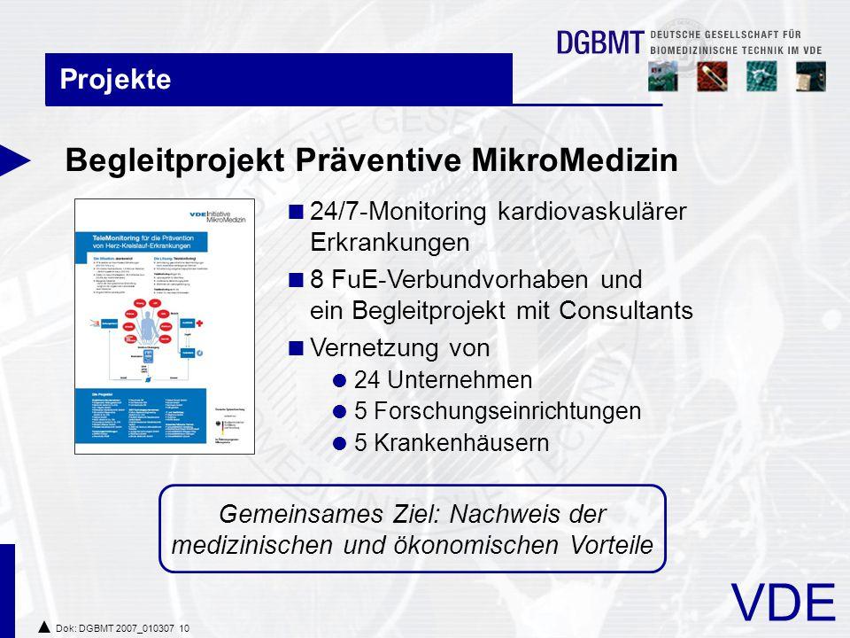 Gemeinsames Ziel: Nachweis der medizinischen und ökonomischen Vorteile