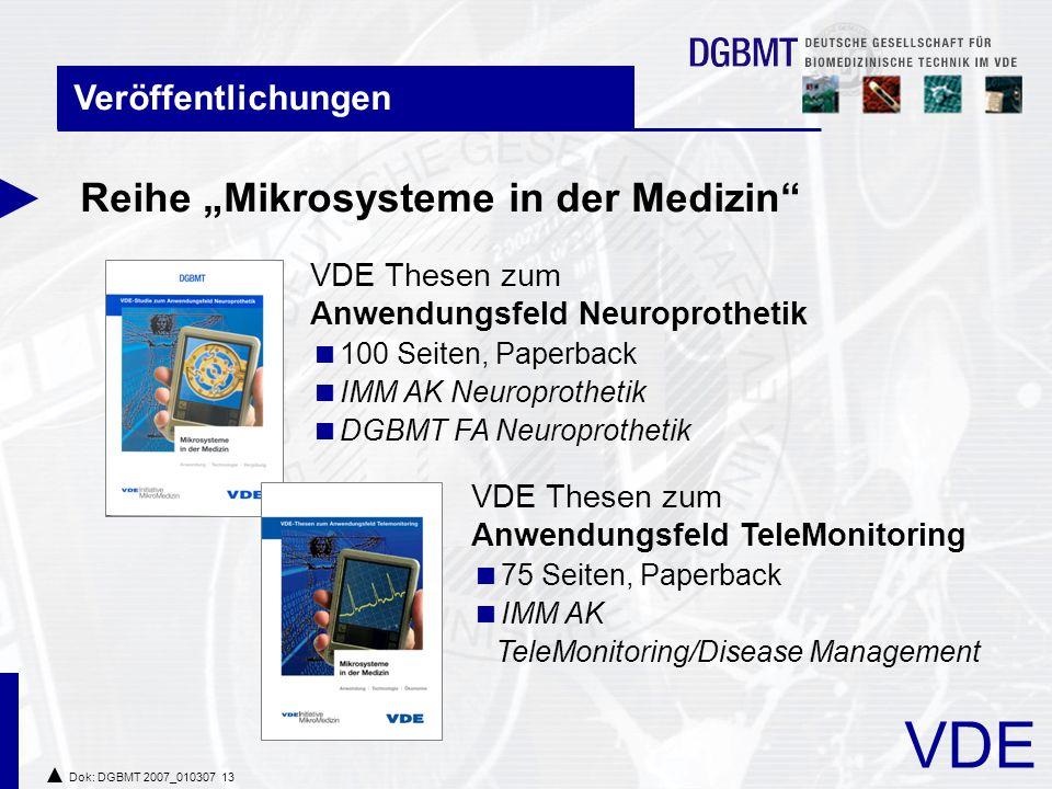 """Reihe """"Mikrosysteme in der Medizin"""