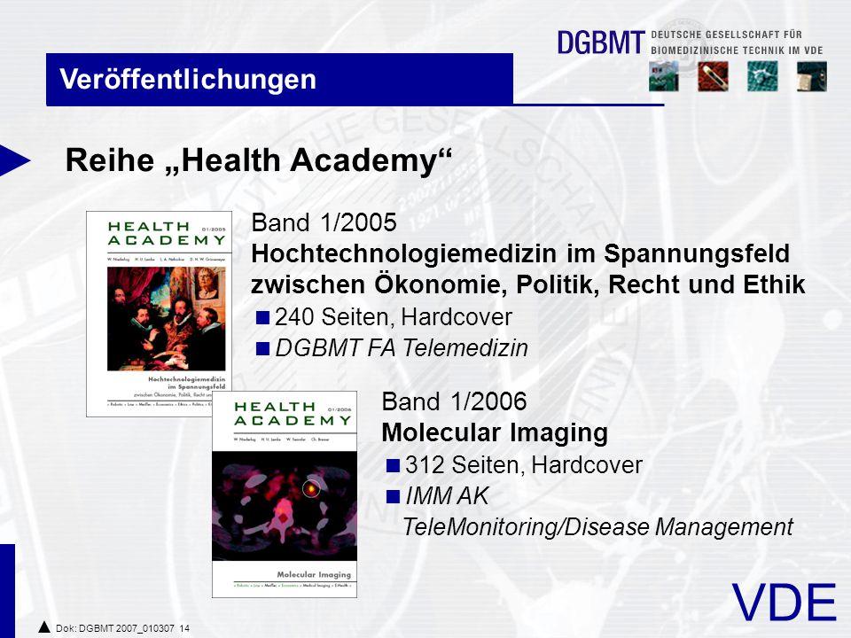 """Reihe """"Health Academy"""