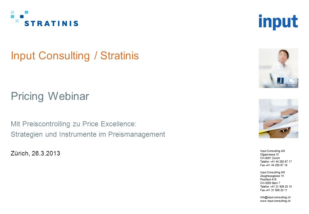 Input Consulting / Stratinis