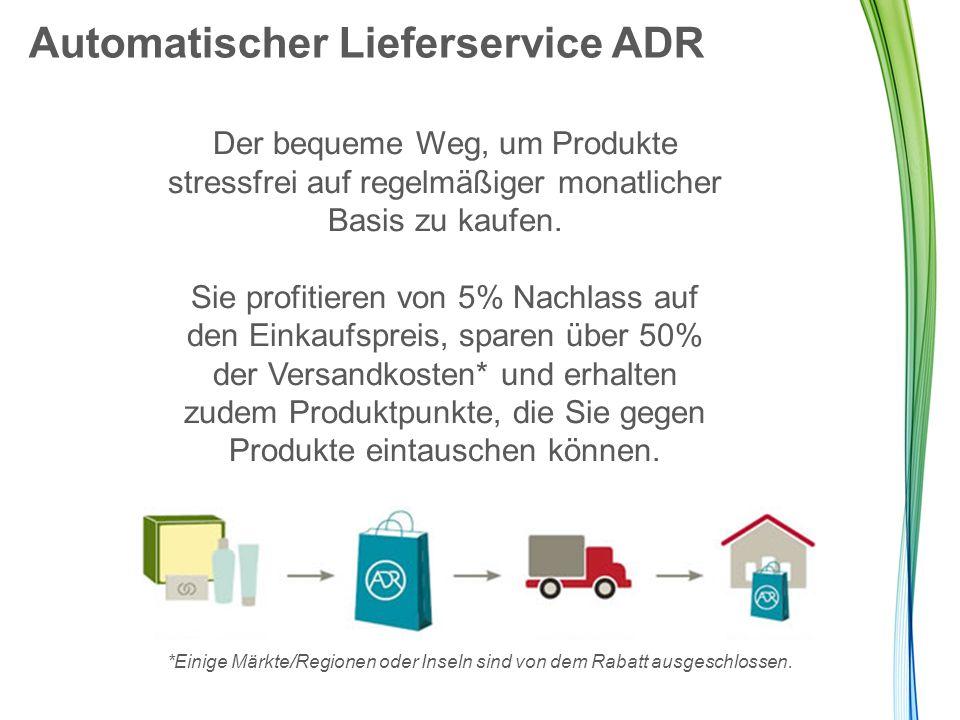 Automatischer Lieferservice ADR